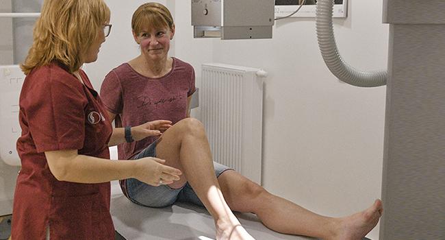 Digitales Röntgen in der Orthopädie